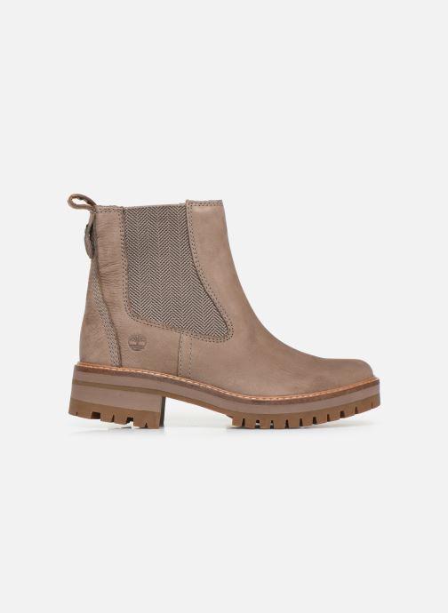 Stiefeletten & Boots Timberland Courmayeur Valley Chelsea beige ansicht von hinten