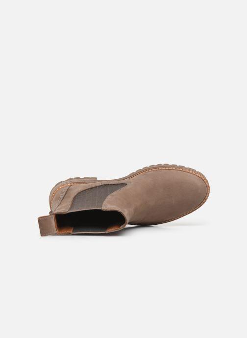 Stiefeletten & Boots Timberland Courmayeur Valley Chelsea beige ansicht von links