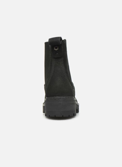 Boots en enkellaarsjes Timberland Courmayeur Valley Chelsea Zwart rechts