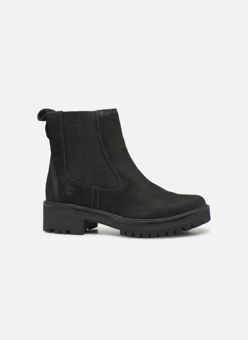 Boots en enkellaarsjes Timberland Courmayeur Valley Chelsea Zwart achterkant