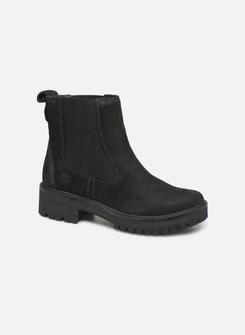 Boots en enkellaarsjes Timberland Courmayeur Valley Chelsea Zwart detail