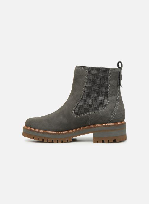 Boots en enkellaarsjes Timberland Courmayeur Valley Chelsea Grijs voorkant