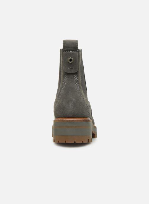 Boots en enkellaarsjes Timberland Courmayeur Valley Chelsea Grijs rechts