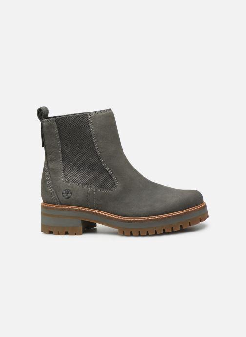 Boots en enkellaarsjes Timberland Courmayeur Valley Chelsea Grijs achterkant