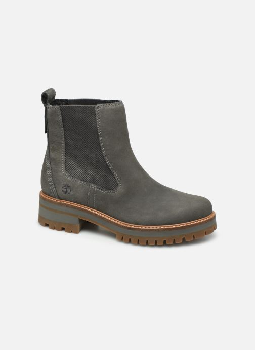 Boots en enkellaarsjes Timberland Courmayeur Valley Chelsea Grijs detail