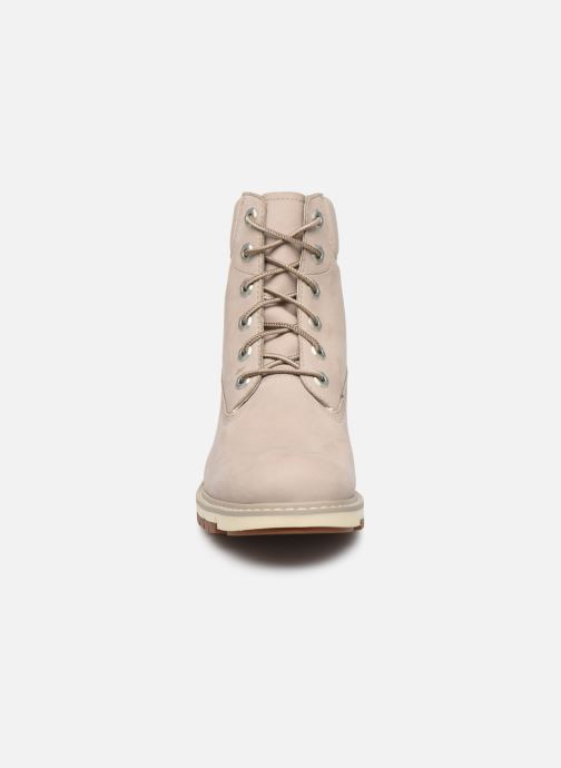 Botines  Timberland Lucia Way 6in WP Boot Gris vista del modelo
