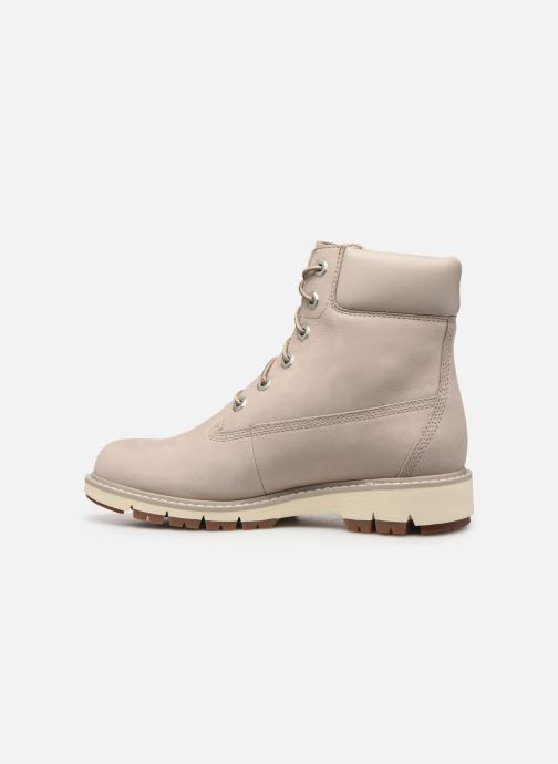 Bottines et boots Timberland Lucia Way 6in WP Boot Gris vue face
