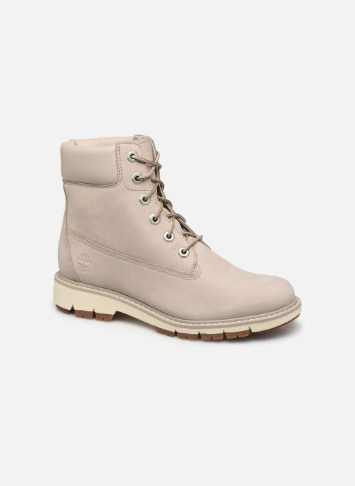 Bottines et boots Timberland Lucia Way 6in WP Boot Gris vue détail/paire