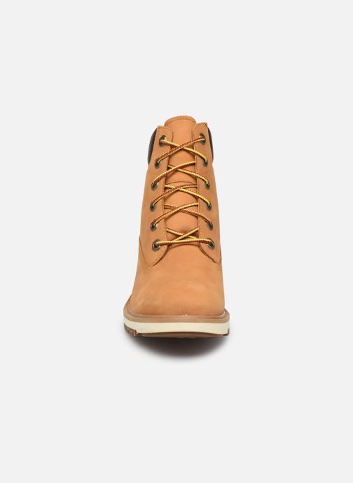 Bottines et boots Timberland Lucia Way 6in WP Boot Marron vue portées chaussures