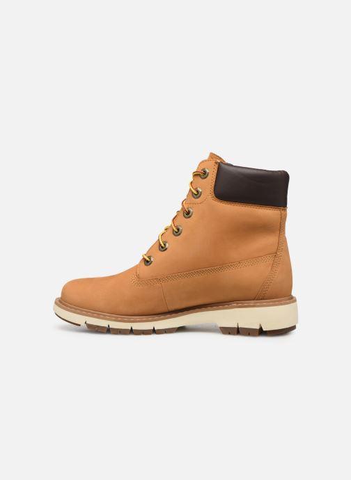 Boots en enkellaarsjes Timberland Lucia Way 6in WP Boot Bruin voorkant