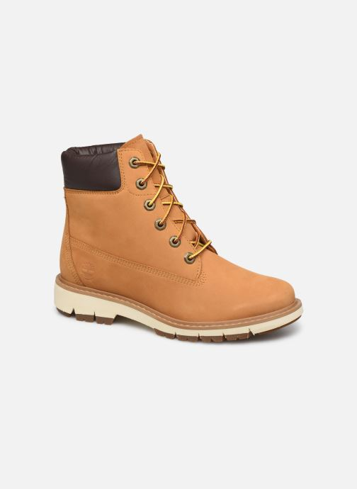 Bottines et boots Timberland Lucia Way 6in WP Boot Marron vue détail/paire