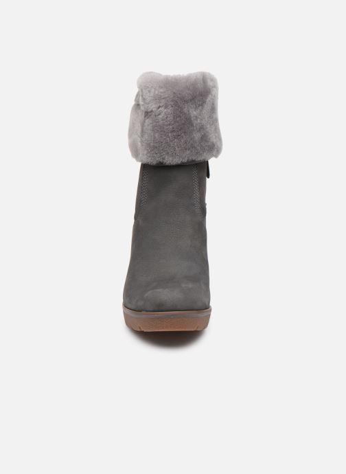 Bottines et boots Timberland Paris Height ShearChelsea Gris vue portées chaussures