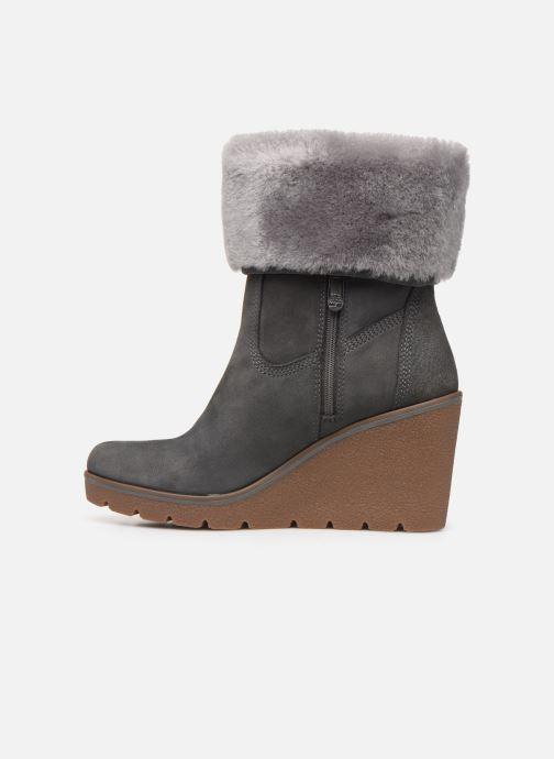Bottines et boots Timberland Paris Height ShearChelsea Gris vue face