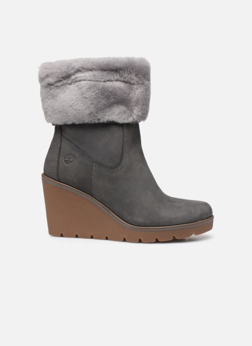 Ankle boots Timberland Paris Height ShearChelsea Grey back view