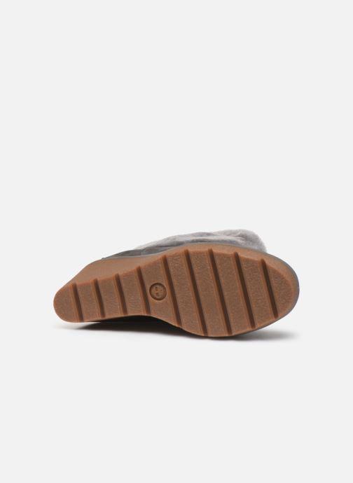 Bottines et boots Timberland Paris Height ShearChelsea Gris vue haut