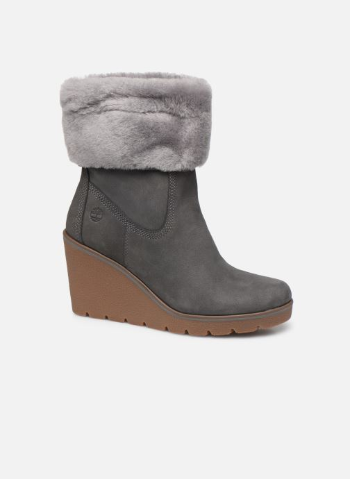Bottines et boots Timberland Paris Height ShearChelsea Gris vue détail/paire