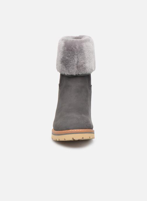 Bottines et boots Timberland Chamonix Valley WP F/D Gris vue portées chaussures