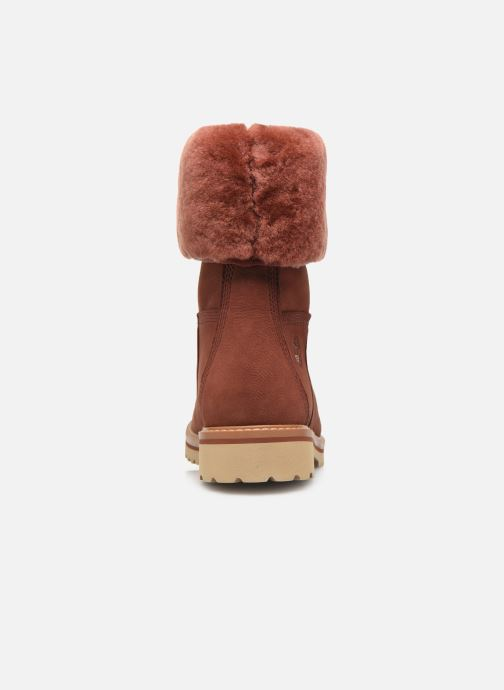 Ankle boots Timberland Chamonix Valley WP F/D Red view from the right