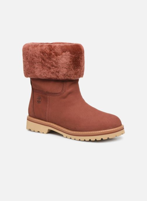 Ankle boots Timberland Chamonix Valley WP F/D Red detailed view/ Pair view