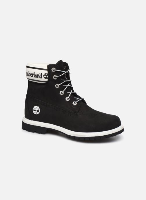 Ankle boots Timberland 6in Premium Boot L/F- W Black detailed view/ Pair view