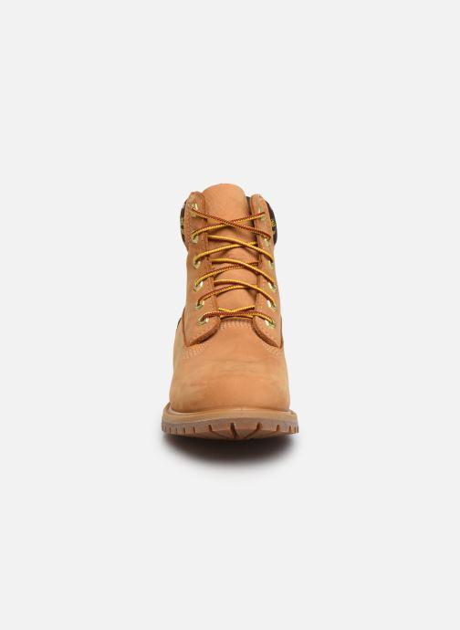 Bottines et boots Timberland 6in Premium Boot L/F- W Marron vue portées chaussures