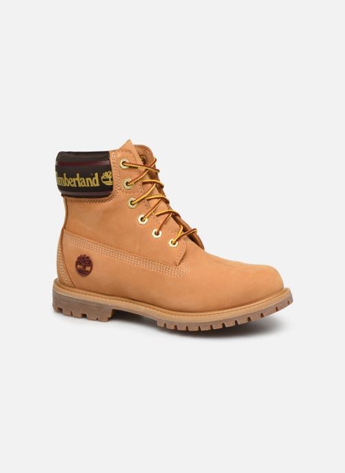Bottines et boots Timberland 6in Premium Boot L/F- W Marron vue détail/paire