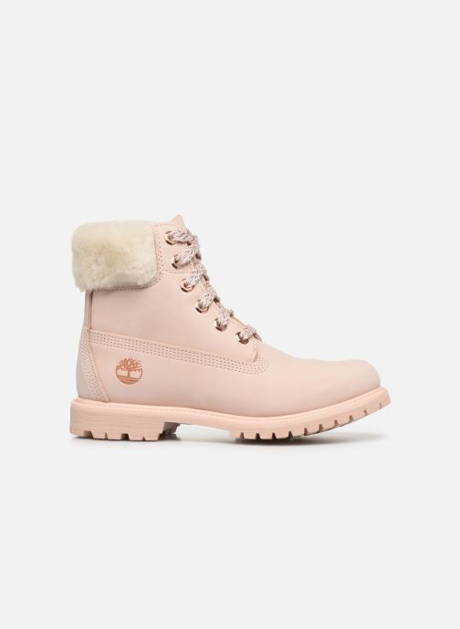 Bottines et boots Timberland 6in Premium w/Shearling Rose vue derrière