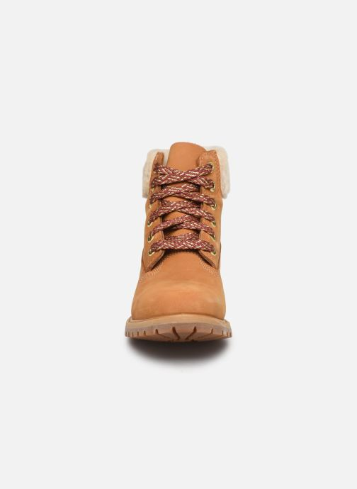 Stiefeletten & Boots Timberland 6in Premium w/Shearling braun schuhe getragen