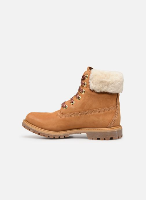 Boots en enkellaarsjes Timberland 6in Premium w/Shearling Bruin voorkant
