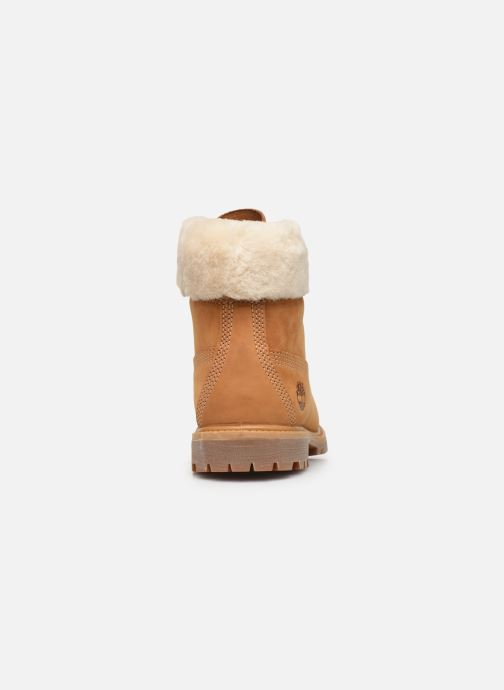 Bottines et boots Timberland 6in Premium w/Shearling Marron vue droite