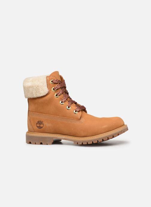 Boots en enkellaarsjes Timberland 6in Premium w/Shearling Bruin achterkant