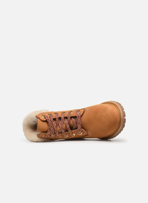 Bottines et boots Timberland 6in Premium w/Shearling Marron vue gauche