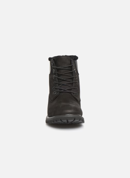 Bottines et boots Timberland 6in Premium Shearling Noir vue portées chaussures