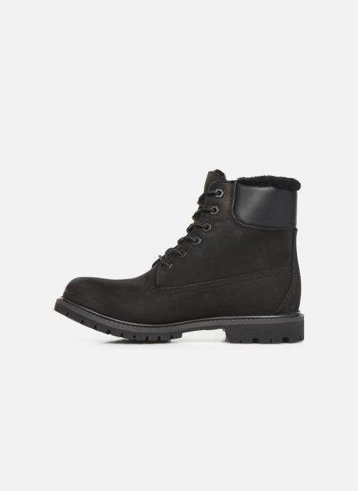 Boots en enkellaarsjes Timberland 6in Premium Shearling Zwart voorkant