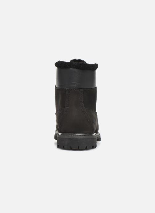 Boots en enkellaarsjes Timberland 6in Premium Shearling Zwart rechts