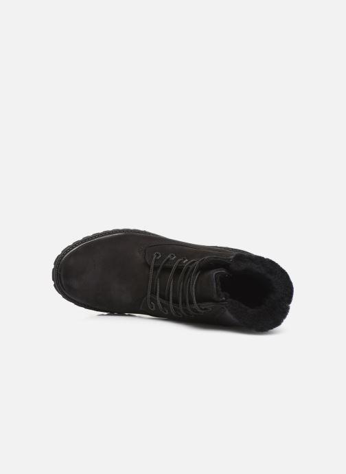 Bottines et boots Timberland 6in Premium Shearling Noir vue gauche