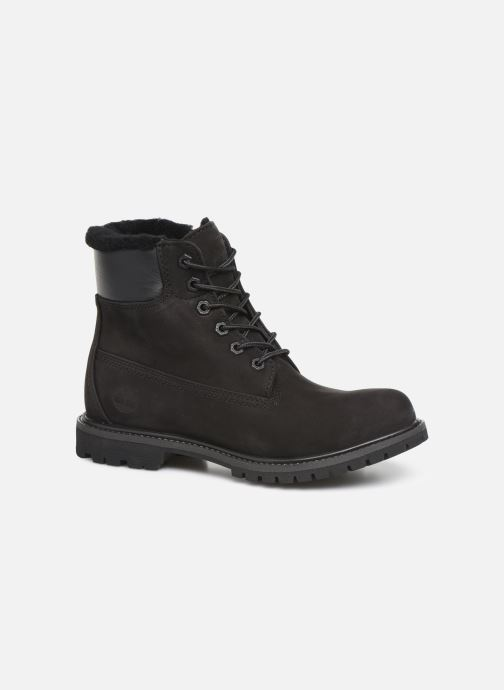 Bottines et boots Timberland 6in Premium Shearling Noir vue détail/paire