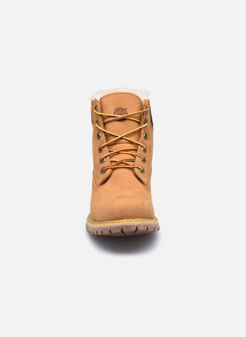 Bottines et boots Timberland 6in Premium Shearling Beige vue portées chaussures