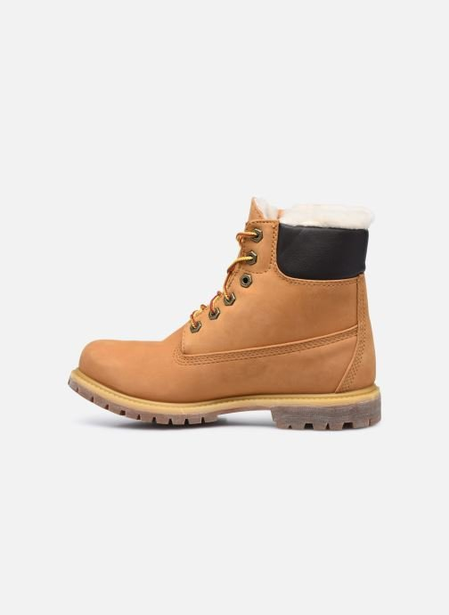 Bottines et boots Timberland 6in Premium Shearling Beige vue face