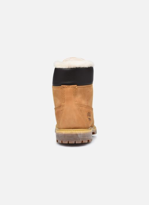 Bottines et boots Timberland 6in Premium Shearling Beige vue droite