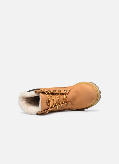 Bottines et boots Timberland 6in Premium Shearling Beige vue gauche