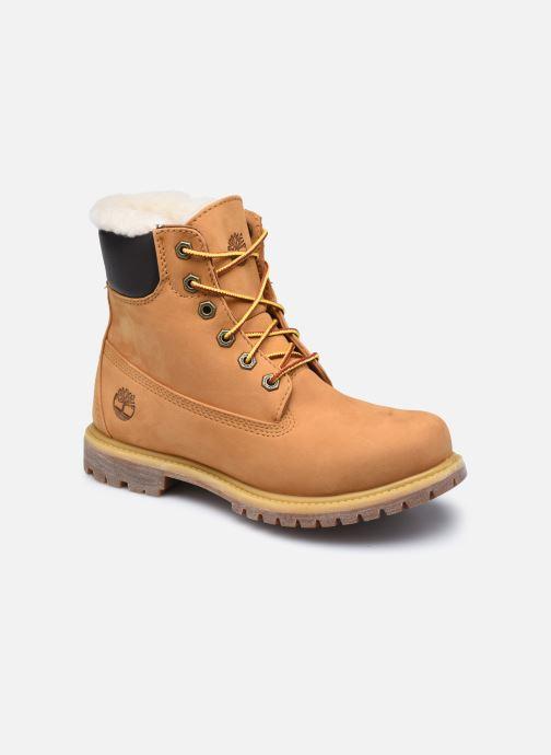 Bottines et boots Timberland 6in Premium Shearling Beige vue détail/paire