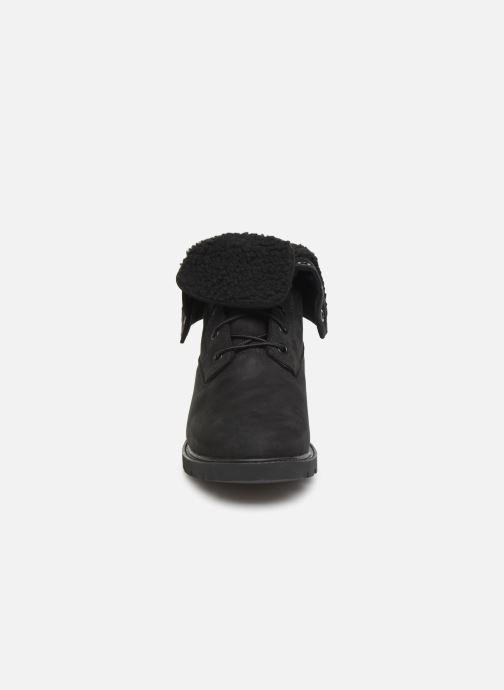 Boots en enkellaarsjes Timberland Linden Woods Teddy Fleece Zwart model