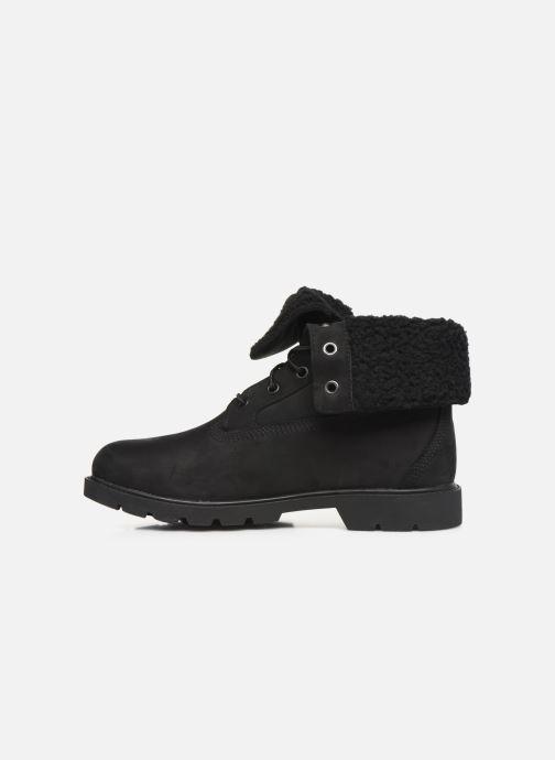 Bottines et boots Timberland Linden Woods Teddy Fleece Noir vue face