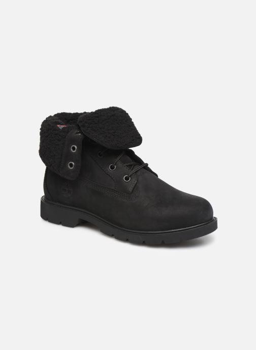 Boots en enkellaarsjes Timberland Linden Woods Teddy Fleece Zwart detail