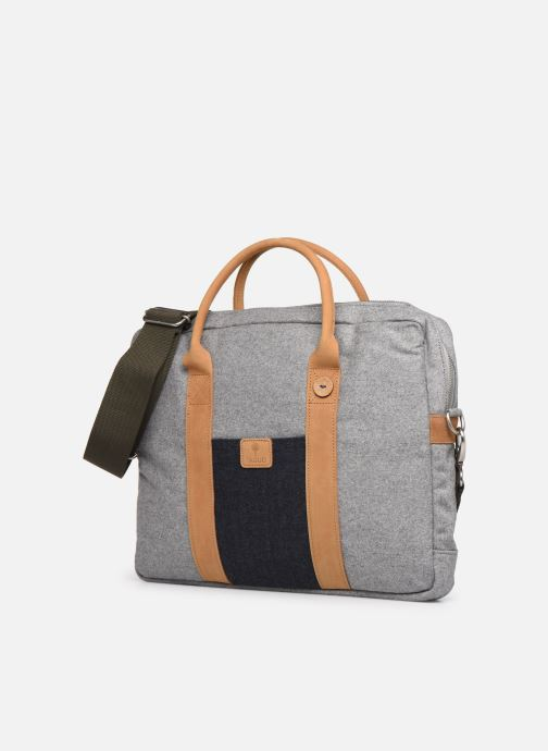 Laptoptaschen Faguo LAPTOP WOOL grau schuhe getragen