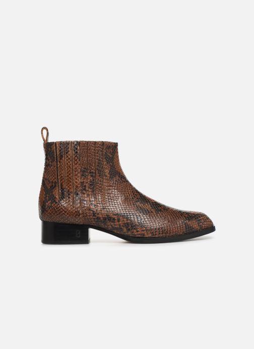 Boots en enkellaarsjes Parallèle Carene C Bruin achterkant