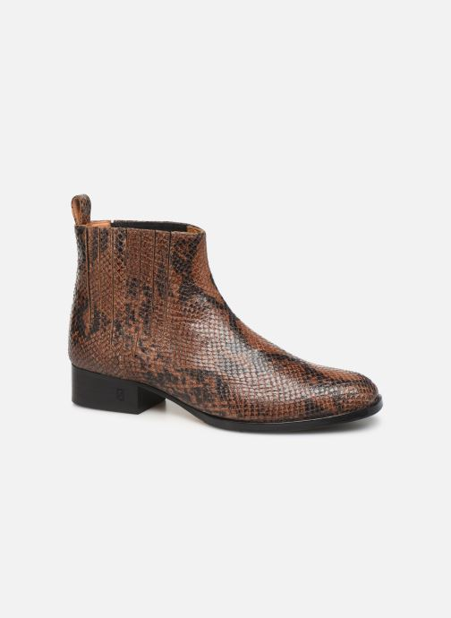 Boots en enkellaarsjes Parallèle Carene C Bruin detail