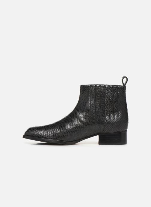 Bottines et boots Parallèle Carene C Noir vue face