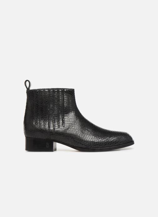 Bottines et boots Parallèle Carene C Noir vue derrière